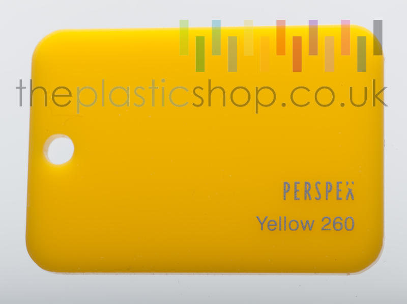 Yellow Perspex® 260