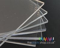 A4 Clear Perspex sheet