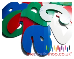 flat cut perspex acrylic letters and numbers