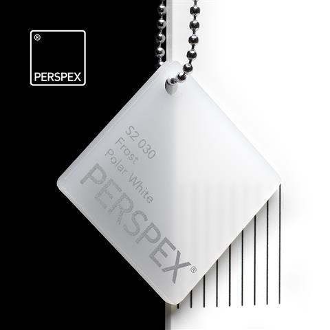 Frosted Perspex® White S2030