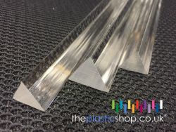 Triangular Acrylic Rod