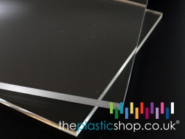 Clear Perspex acrylic sheets